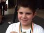 La doar 9 ani, Mihai Alexandru Bușe este medaliat la karate, dans modern și la șah! Copilul vrea să devină un mare dansator!